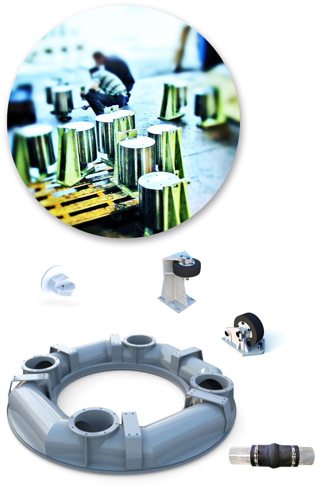 rotary-table-filter-components